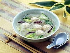 Meatball noodles