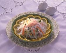 マロニーのフレッシュ野菜サラダ(たらこマヨネーズ)
