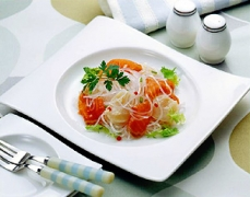 Salmon and scallop marinade