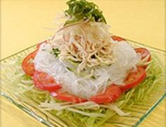 冷麺風マロニーサラダ