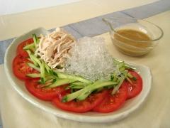 プチプチ棒々鶏風サラダ