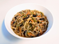 Mabo Malony with vegetables