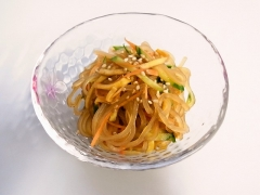 Chinese-style vinegared dish