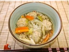 名古屋コーチンの肉団子スープ