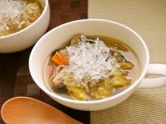 プチプチ野菜スープ