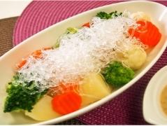 プチプチの温野菜サラダ