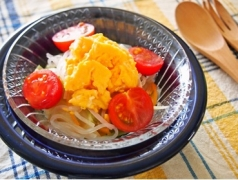 【NEW】炒り卵とキャベツのマロニーサラダ