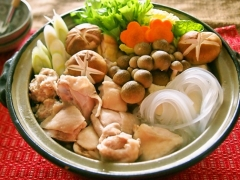 【NEW】生マロニーの鶏水炊き