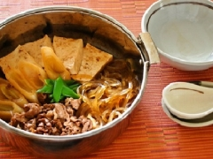 マロニーの肉豆腐鍋