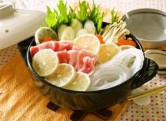 【NEW】生マロニーのレモン鍋