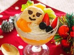 マロニーのクリスマスパフェ