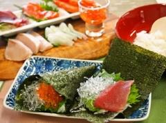 プチプチ手巻き寿司