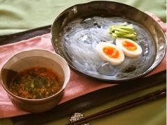 ピリ辛つけ麺風マロニー