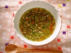 マロニーとささみのスープ(離乳食・中期)