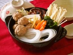マロニー肉団子鍋(野菜高騰時)