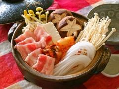 マロニーキムチ鍋(野菜高騰時)