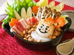 【NEW】マロニーの節分豆乳鍋