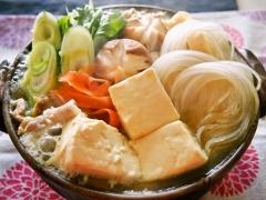 マロニーの白菜と豆腐のとろとろ鍋