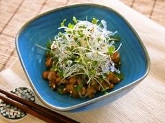 【NEW】プチプチとスプラウトの納豆小鉢