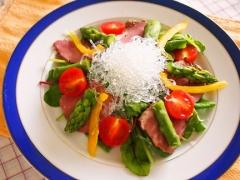 【NEW】プチプチとアスパラの彩りサラダ